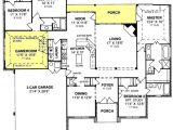 5 Bedroom 3 Car Garage House Plans 655799 1 Story Traditional 4 Bedroom 3 Bath Plan with 3