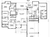 5 Bedroom 3 Car Garage House Plans House Plan 82117 Craftsman Luxury Plan with 3003 Sq Ft
