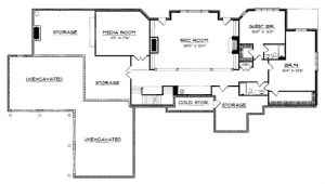 5 Bedroom House Plans with Walkout Basement Eplans European House Plan Five Bedroom European 6311