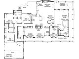5 Bedroom House Plans with Wrap Around Porch Eplans Farmhouse House Plan Five Bedroom Farmhouse