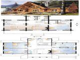 5 Bedroom Log Home Plans Log Cabin Floor Plans with 2 Master Suites Little Log