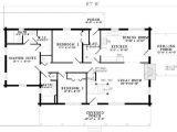 5 Bedroom Log Home Plans Plan 110 00908 5 Bedroom 3 Bath Log Home Plan