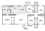 5 Bedroom Mobile Home Floor Plans 5 Bedroom Mobile Homes Floor Plans Photos and Video
