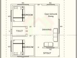 500 Sq Ft House Plans In Kerala 500 Square Feet House Plan with Elevation Architecture