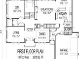 5000 Sq Ft Home Floor Plans House Plans 4000 to 5000 Square Feet