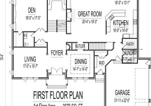 5000 Sq Ft House Plans In India House Plans 4000 to 5000 Square Feet