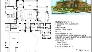 5000 Square Foot Home Plans Floor Plans to 5 000 Sq Ft
