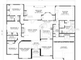55 Wide House Plans House Plan 026852 Bedrooms 4 Bathrooms 3 Garage 2