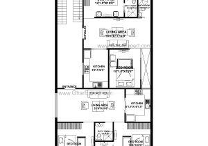 55 Wide House Plans House Plan for 32 Feet by 58 Feet Plot Plot Size 206