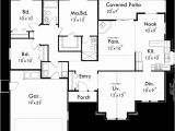55 Wide House Plans One Level House Plan 3 Bedroom 2 Bath 2 Car Garage 55 Ft