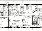 55 Wide House Plans Quadruple Wide Mobile Home Floor Plans 5 Bedroom 3