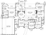 5br House Plans Texas Country Home Plan Four Bedrooms Plan 136 1002
