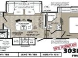 5th Wheel Tiny House Floor Plans 5th Wheel Floor Plans with Rear Kitchen Google Search