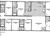 6 Bedroom Manufactured Home Floor Plan 4bedroom 4 Bath Doublewide