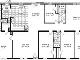 6 Bedroom Manufactured Home Floor Plan Double Wide Floor Plans 5 Bedroom 4 Bedroom Double Wide