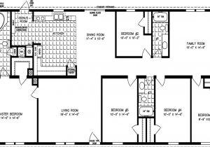 6 Bedroom Modular Home Floor Plans Double Wide Trailer Floor Plans 32 X 80