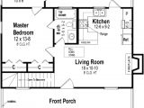 600 Sq Ft House Plans 1 Bedroom Cabin Style House Plan 1 Beds 1 Baths 600 Sq Ft Plan 21 108