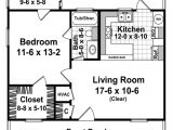 600 Sq Ft House Plans 1 Bedroom Cottage Style House Plan 1 Beds 1 Baths 600 Sq Ft Plan