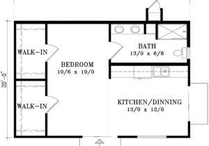 600 Sq Ft House Plans with Loft Cottage Style House Plan 1 Beds 1 Baths 600 Sq Ft Plan