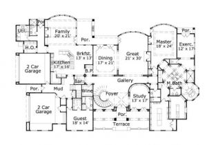 7 Bed House Plans 7 Bedroom House Floor Plans House Design Plans