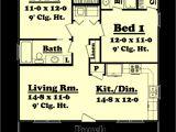 900 Sq Foot Home Plans Farmhouse Style House Plan 2 Beds 2 Baths 900 Sq Ft Plan