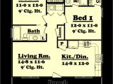 900 Sq Ft Home Plans Farmhouse Style House Plan 2 Beds 2 Baths 900 Sq Ft Plan