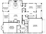 900 Sq Ft House Plans 3 Bedroom Craftsman Style House Plan 3 Beds 2 5 Baths 2530 Sq Ft