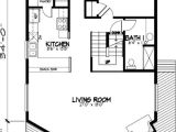 A Frame Home Floor Plans A Frame Cabin House Plan 57437