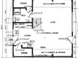 A Frame Home Floor Plans A Frame House Plan with Deck