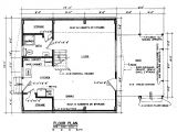 A Frame Home Floor Plans Free A Frame House Plan with Deck