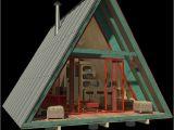 A Frame Home Plan A Frame Tiny House Plans