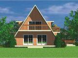 A Frame Home Plan Contemporary A Frame House Plans Home Design Hw 3743