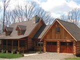 A Frame House Plans with attached Garage Log Cabin House Plans with attached Garage