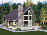 A Frame House Plans with Garage House Plan 99946 at Familyhomeplans Com