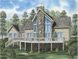 A Frame Lake House Plans Cantwell Lake Waterfront Home Plan 055d 0629 House Plans