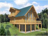 A Frame Lake House Plans Leola Raised A Frame Log Home Plan 088d 0046 House Plans