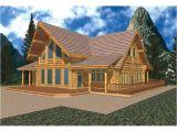 A Frame Log Home Plans Del Rio A Frame Log Cabin Home Plan 088d 0030 House