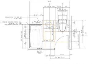 Ada Home Floor Plans Choice Of Ada Bathroom Floor Plans Bathroom Decor Ideas