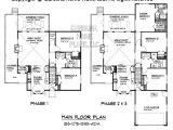 Ada Home Floor Plans Small Build In Stages House Plan Bs 1275 1595 Ad Sq Ft