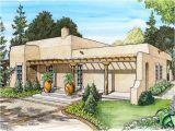 Adobe Style Home Plans Adobe House Plans Small southwestern Adobe Home Plan