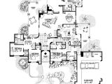 Adobe Style Home Plans Adobe southwestern Style House Plan 4 Beds 3 Baths