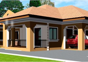 African Home Plans Designs Ghana House Plans Adehyi House Plan