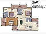 Ajnara Homes Noida Extension Floor Plan Ajnara Homes Floor Plan Noida Extension Greater Noida West