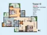 Ajnara Homes Noida Extension Floor Plan Overview Ajnara Homes at Noida Extension Goldmine