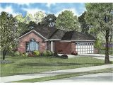 All Brick Home Plans Hillsgate One Story Home Plan 055d 0565 House Plans and More