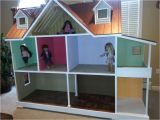 American Doll House Plans Custom Built American Girl 18 Inch Doll House One Of A