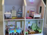 American Doll House Plans Doll House Plans for American Girl or 18 Inch Dolls 4 Room