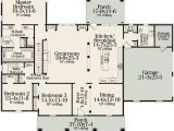 American Home Design Plans Classic American Home Plan 62100v 1st Floor Master