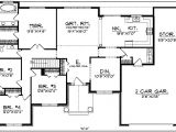 American House Designs and Floor Plans Traditional American Design 89091ah 1st Floor Master