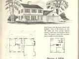 Antique Colonial House Plans Vintage House Plans 1856 Antique Alter Ego